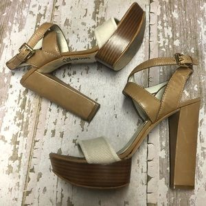 Michael Kors Platform Heeled Sandals 10